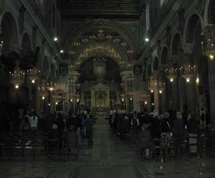 Церковь Maria in Аracoeli. Roma